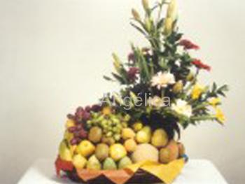 Canasta Floral Frutal