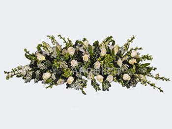 Cubre Caja de Rosas Blancas